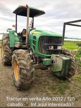 De OPORTUNIDAD Tractor John Deere año 2012/125 caballos de fuerza