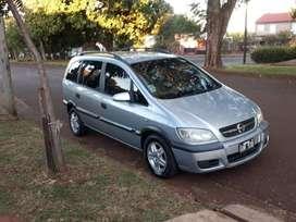Vendo Chevrolet Zafira, modelo 2008, 8 válvulas, Nafta, tipo monovolumen 7 asientos, cierre centralizados, etc...