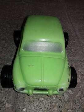 Antiguo Fiat 600 de Plástico Inflado