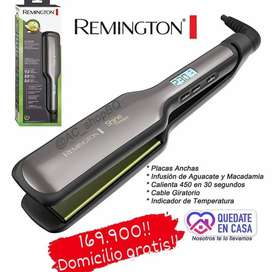 Remington ancha profesional, aguacate y macadamia