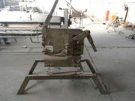 cortadora múltiple de hierros, cizalla y punzonadora