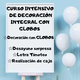 CURSO INTENSIVO DE DECORACIÓN