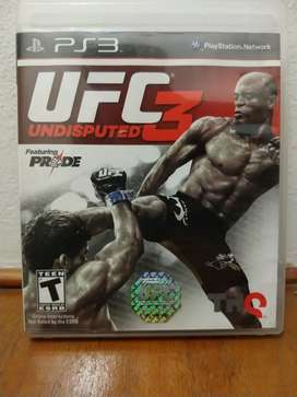 Ufc undisputed 3 Play station3