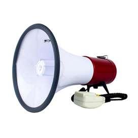 Megafono Perifoneo Recargable 30w Sirena Grabador