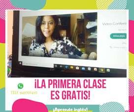 CLASES DE INGLES PROFESORA BILINGUE