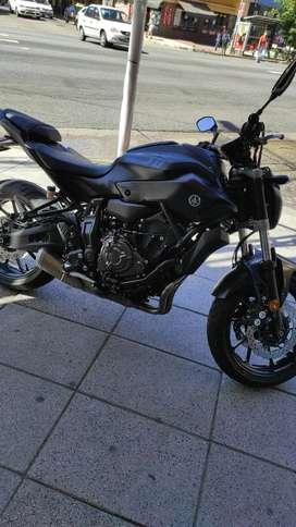 Vendo Yamaha MT 07