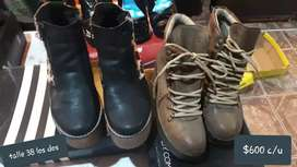 Zapatos usados en buen estado