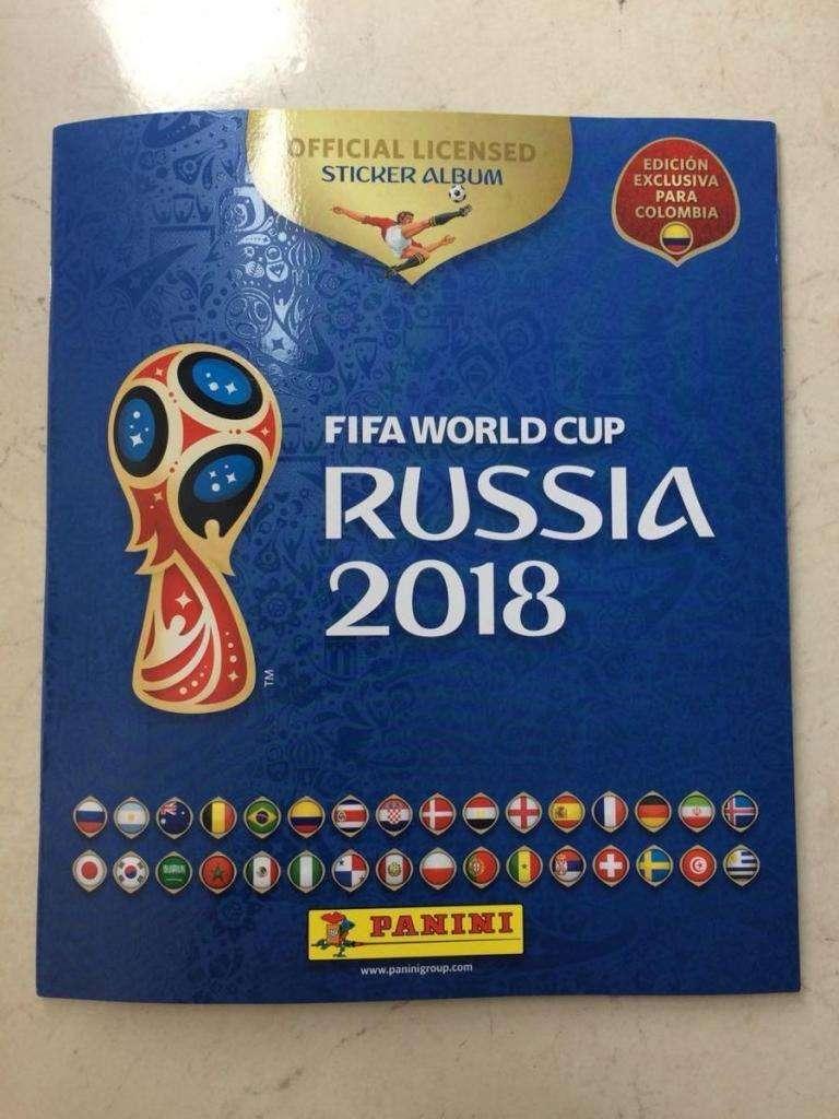 album mundial russia 2018 panini 0