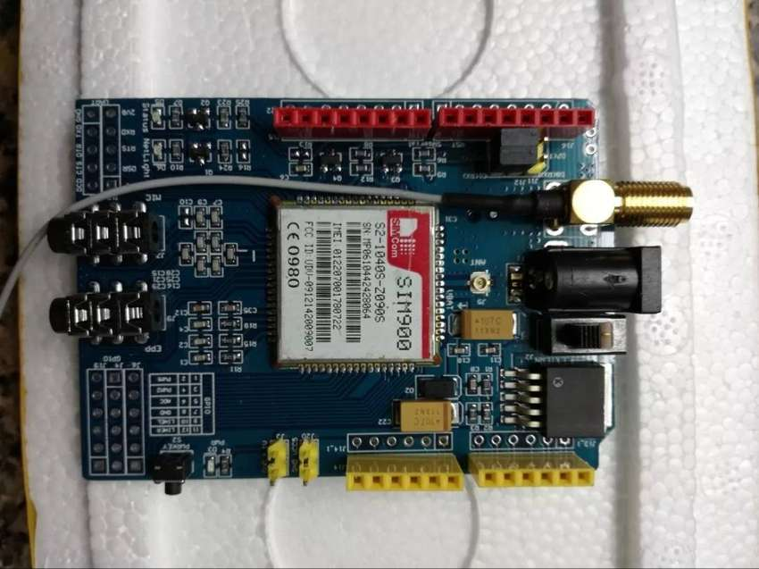 Arduino Shield Celular Gsm/gprs Sim900 Con Antena 0