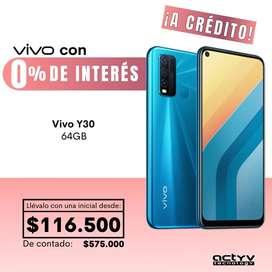 VIVO Y30 4/64GB ¡A Crédito!