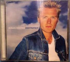 Ronan Keating. Destination. Cd original.
