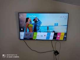 Smart TV 4K de 55 Smart marca LG Netflix YouTube amason