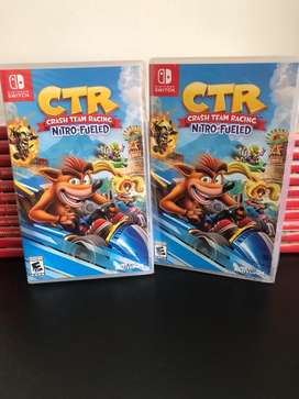 Crash Ctr Para Nintendo Switch Nuevo