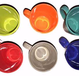 Set mugs colores x 6
