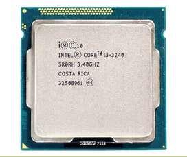 COMBO PROCESADOR INTEL CORE I3 3240 + Placa Madre + Memoria Ram 8gb 1600Mhz