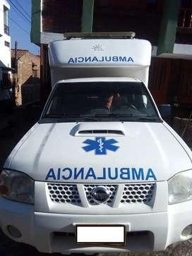 Ambulancia Nissan Frontier 2011 4x4 Diesel