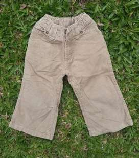 Pantalon Niño Cheeky Talle 2 Corderoy