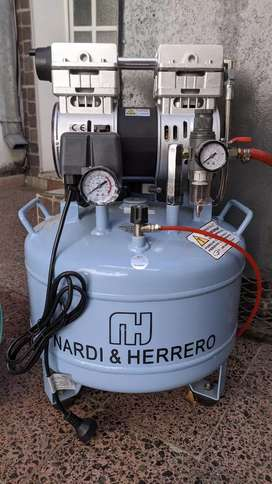 Compresor de aire odontológico 1 Hp