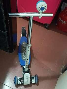 Mono patin escooter