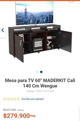 Se vende Mesa de TV Nueva a un gran precio.