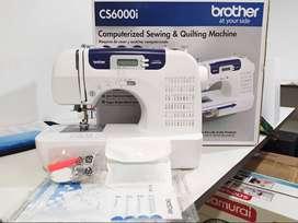 Maquina De Coser Brther CS6000I - $980.000