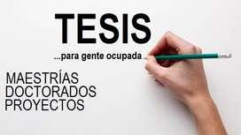 ASESORÍA DE TESIS Y MAESTRÍAS.