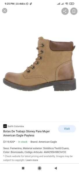 Hermosas botas , poco uso , costosas , american eagle , talla 37/2