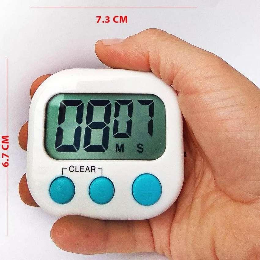 TIMER TEMPORIZADOR COCINA LABORATORIO 99MIN 59SEG PROGRESIVO 0