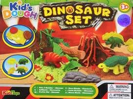 Set plastilina dinosaurios juguete navidad niños