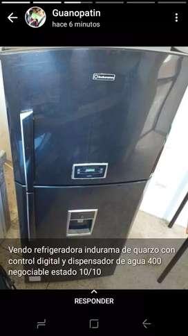 Vendo refrigeradora indurama de quarzo
