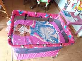 Cama corral con colchón