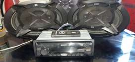Stereo y parlantes SONY