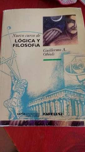 Nuevo Curso de Logica Y Filosofia