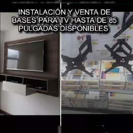 Bases de televisores instalación y venta