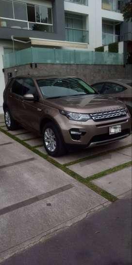 Vendo Land Rover Discovery Sport en excelente estado