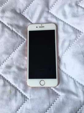 Iphone 7 rosa de 128 gb