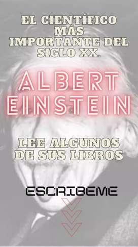 Libros de Albert Einstein en PDF.