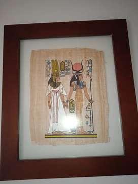 Vendo cuadro papiro
