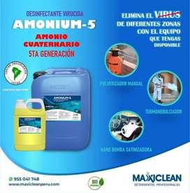 AMONIUM CUATERNARIO 5TA GENERACION