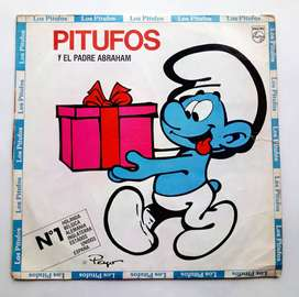 Los Pitufos Disco Lp Original - 1983