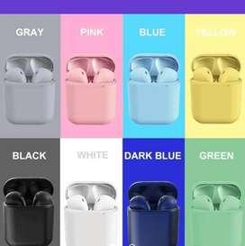 Auriculares airpods- 12 tws Bluetooth- deporte-gym . Agotado color rosa. VALIDAR COLORES