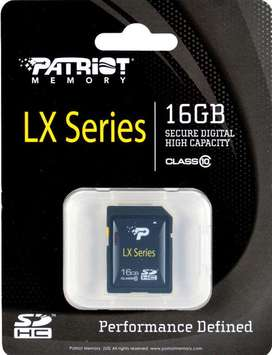 memoria SD patriot series