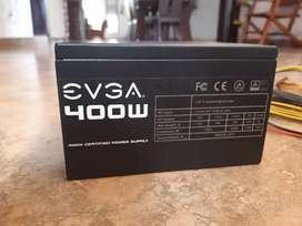 Fuente de poder EVGA 400w 6 meses de uso