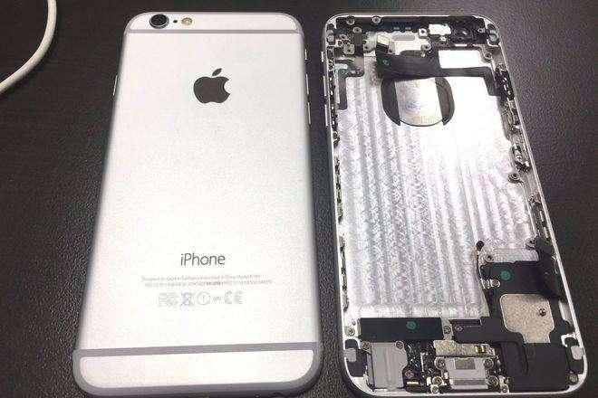 carcasa iphone 6 plus trasera nuevo instalado en tienda 0