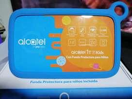 Tablet alcatel especializada para niños