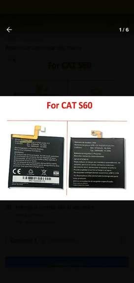 Batería original para Caterpillar cat  s60