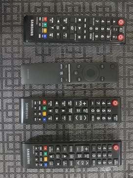 Controles TV Samsung