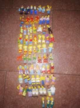 Muñequitos de los Simpson jack lote de 71 piezas