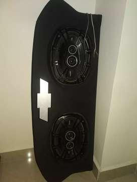 Palomera y bandejas de sonido tipo spark GT, twingo, Kia picanto