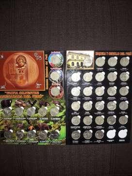 Coleccion  Monedas del Peru incluye Albun GRATIS